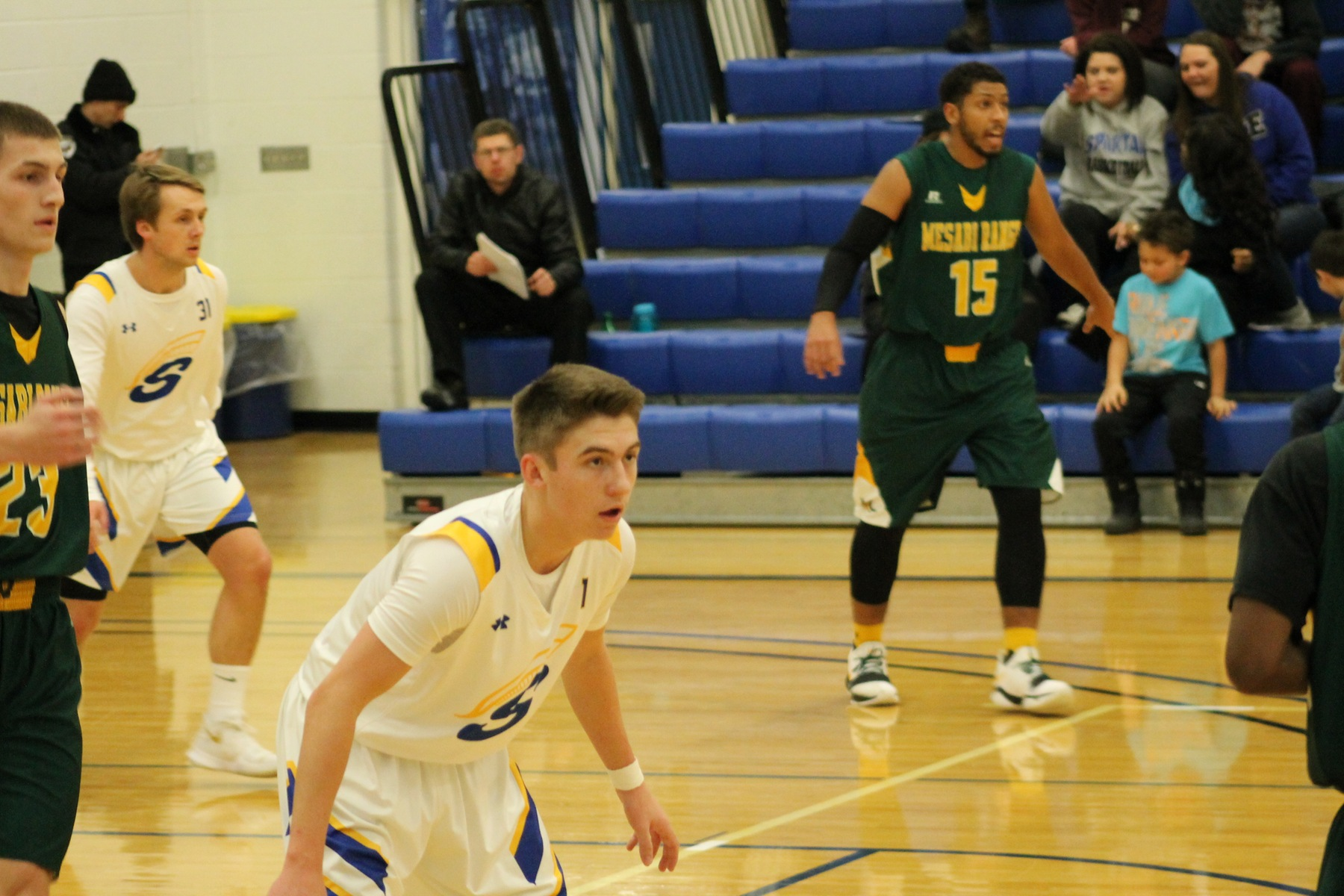 Spartans Fall to Golden Rams
