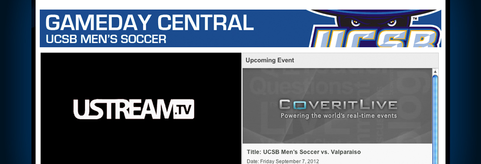 UCSB Athletics Debuts 'Gameday Central' This Weekend