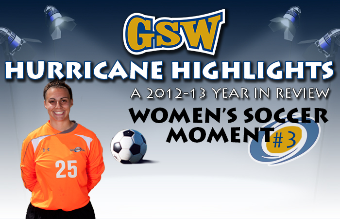 GSW Women's Soccer Hurricane Highlight #3: Bahri Sets Career Saves Mark
