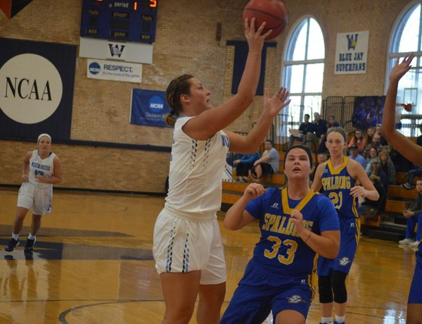 Adams' Big Night Leads Westminster Women's Basketball Over Spalding