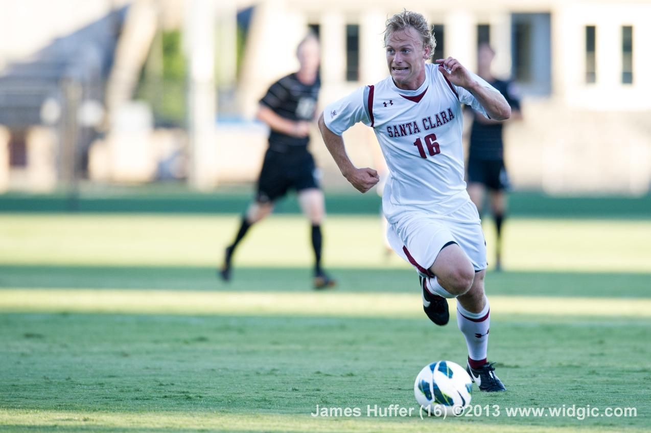 Men' Soccer Wins At San Jose State with Late Goal by James Huffer