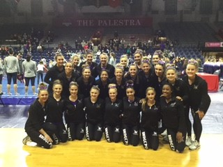 UB Women's Gymnastics Takes Second Place At Penn Quad Meet