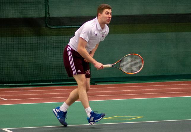 Men's Tennis: Regis (Mass.) downs Norwich, 9-0