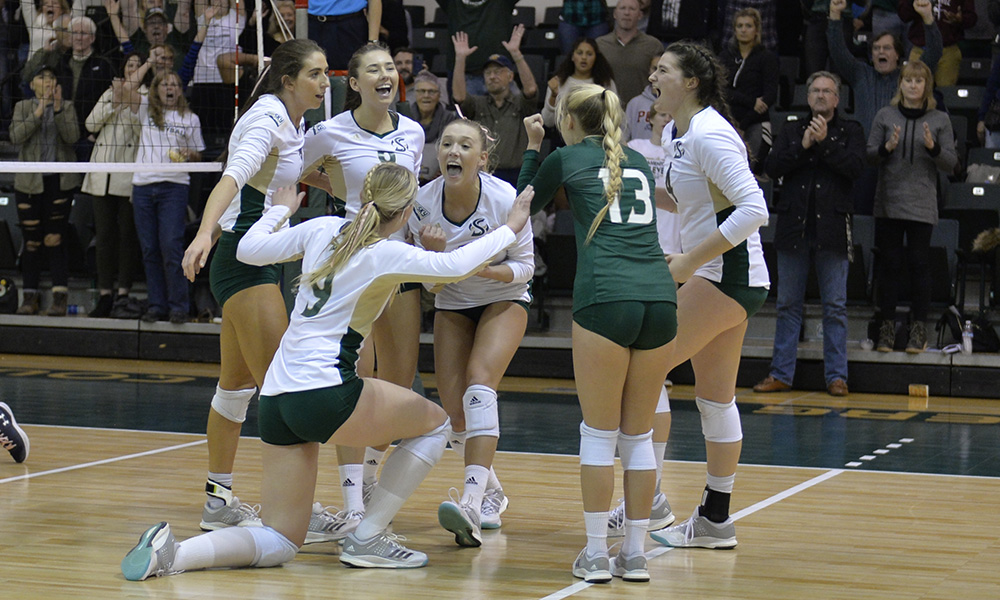 VOLLEYBALL ADVANCES TO BIG SKY SEMIFINALS AFTER 3-1 WIN OVER NORTHERN COLORADO