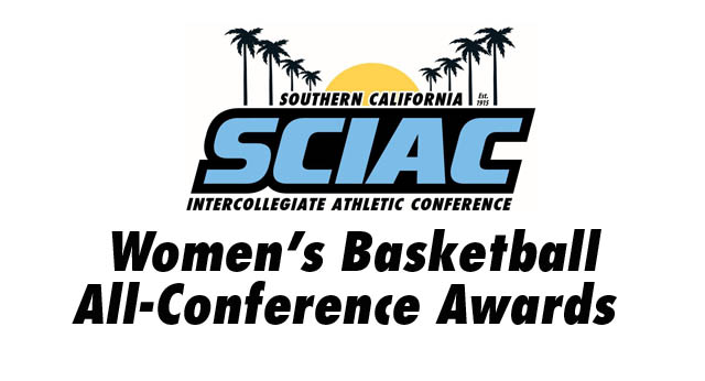 SCIAC Is Proud to Announce the Women's Basketball All-Conference Awards