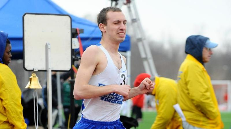 Men's Track and Field Second at UNH