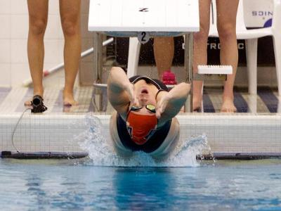 CUA Swimming Wraps Up Opening Event with Notable Finishes