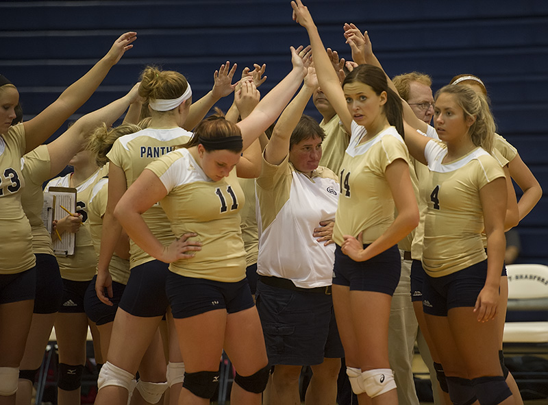 Upb Volleyball Squad Honored By Avca For Academic Excellence University Of Pittsburgh Bradford