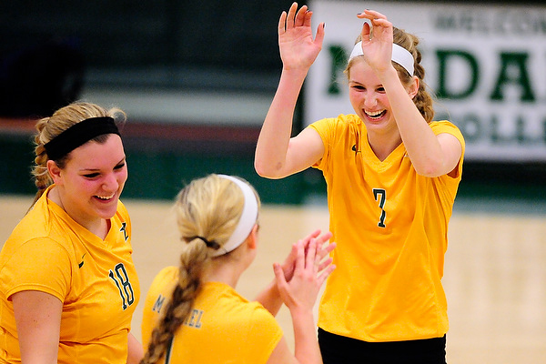 Rose leads McDaniel into playoffs with 15 kills