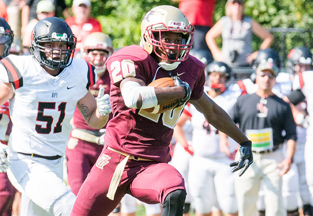 Football: Norwich Toppled By RPI In Season-Opener, 31-17