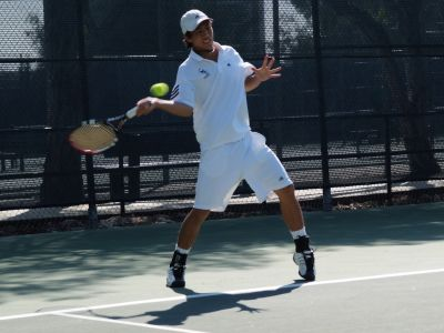 Men's Tennis Advances in Stag-Hen