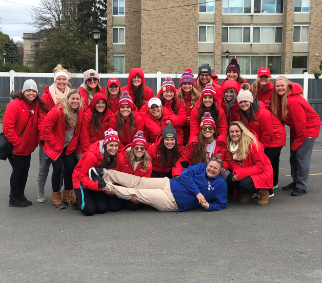 Athletes off the Field: Cortland softball raises more than $2K to fight hunger in community