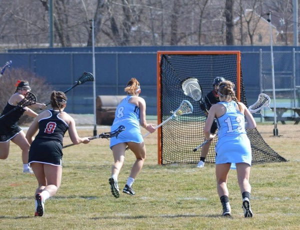Taggart Scores First Goal For Westminster Lacrosse