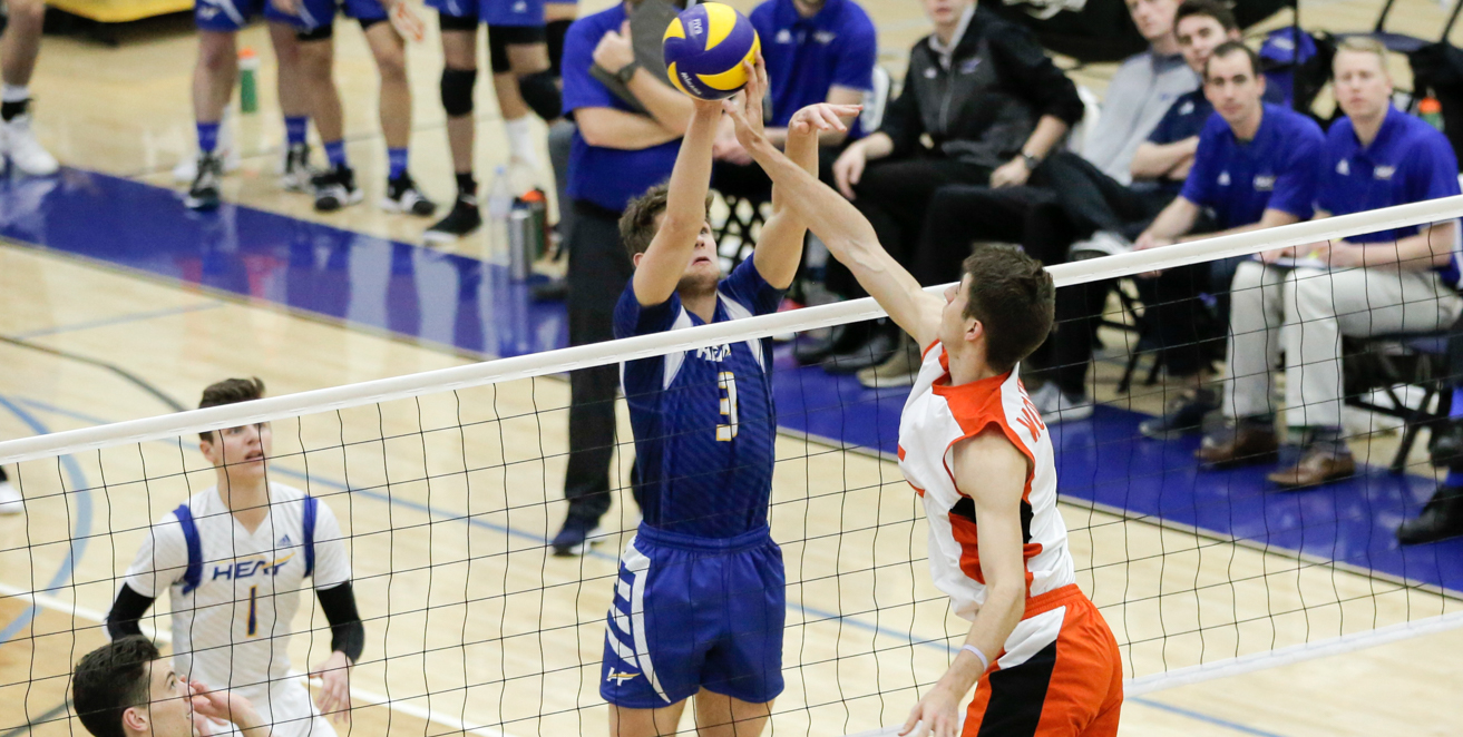 RECAP: Four set loss eliminates Heat from playoff contention