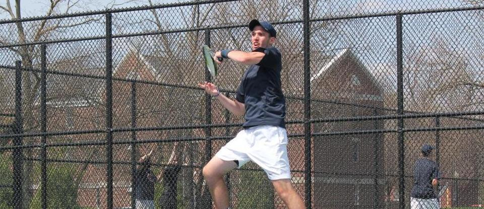 Men's Tennis Shuts out Central State in Spring Home Opener