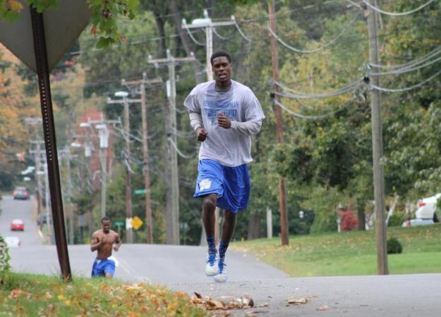Speech Captures 16th Blue Devil Run