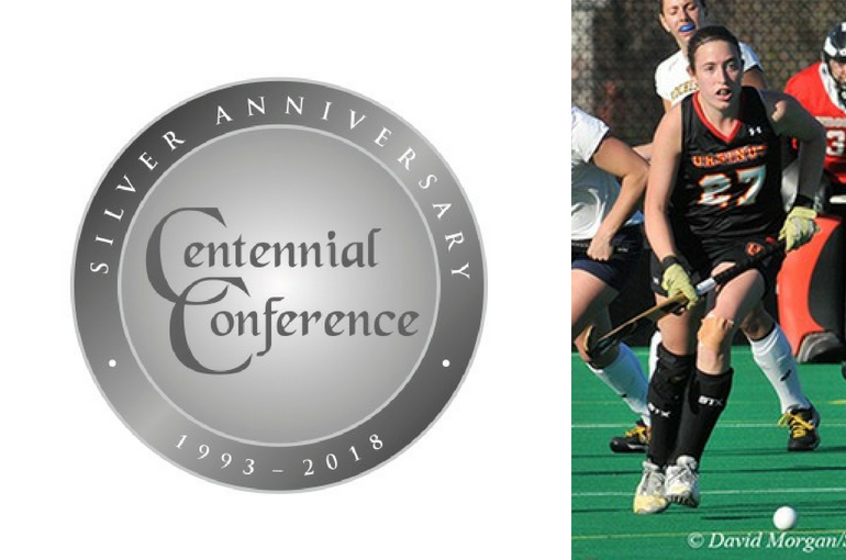 Ursinus' Megan Keenan is the only four-time first-team All-Conference performer in Centennial history.