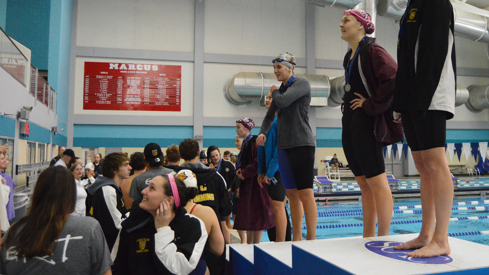 Southwestern in third place after day two of SCAC Championships