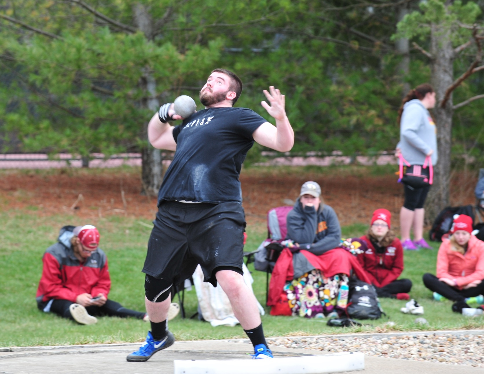 Track & Field Participate in Season Opener