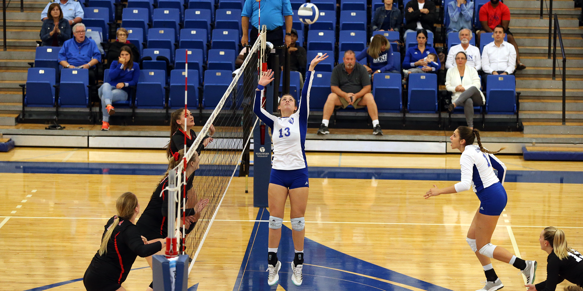 Colonna Logs Triple-Double in Volleyball's Setback at Embry-Riddle