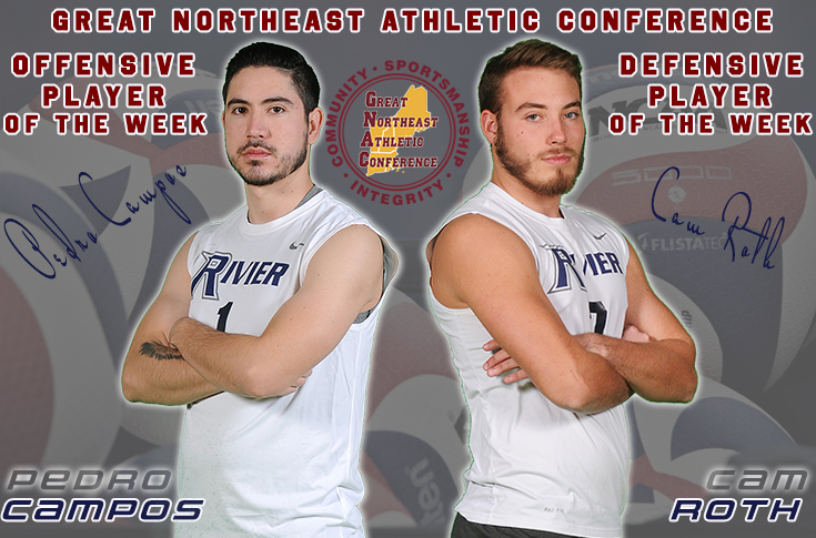 Men's Volleyball: Campos, Roth named GNAC Players of the Week