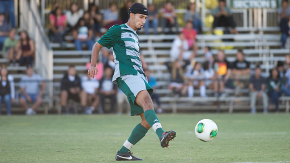 MEN'S SOCCER LOOKS TO COOL DOWN RED HOT UC SANTA BARBARA TUESDAY