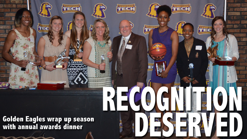 Women's basketball announces awards winners at annual Awards Dinner