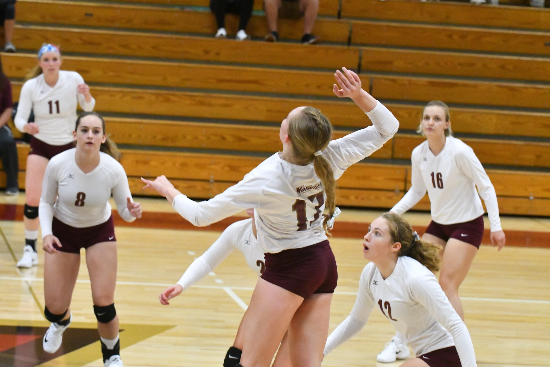 Volleyball: Owls fly by Cadets, 3-0