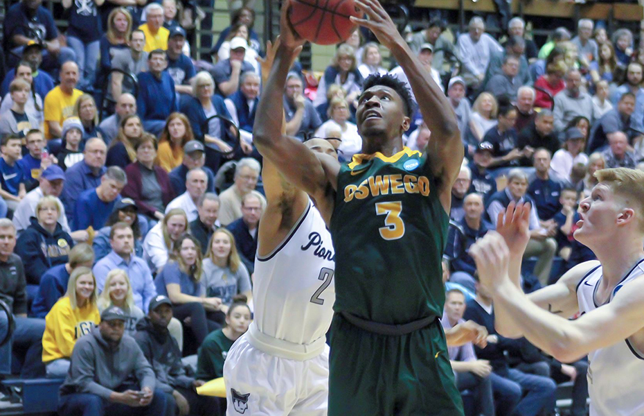 Oswego Men's Basketball Closes Season in NCAA Sweet 16