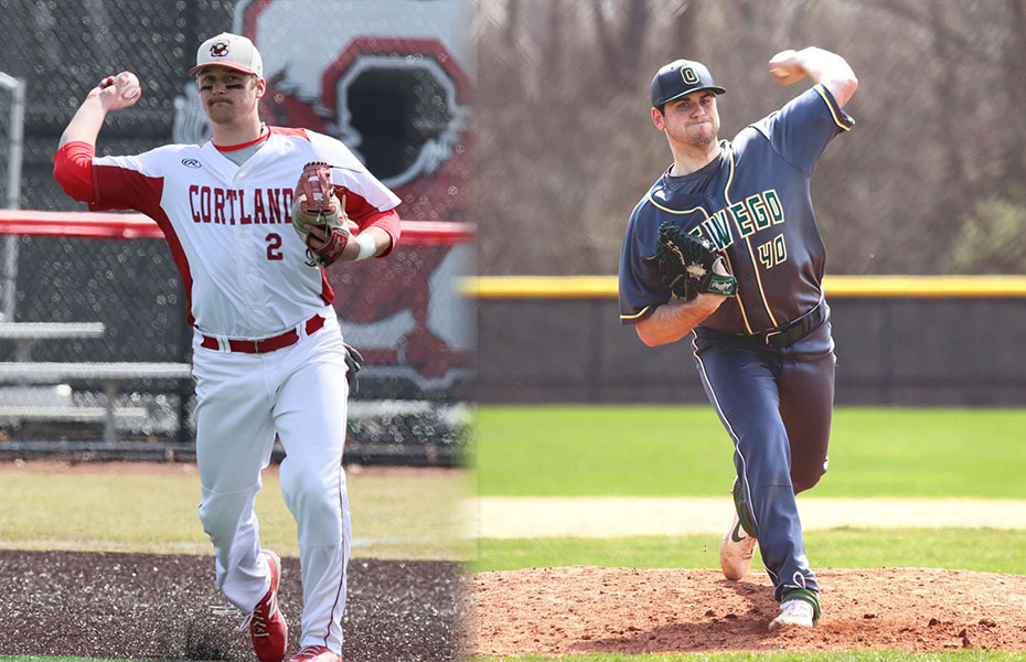 Coleman and Finnegan Earn Weekly Conference Baseball Awards