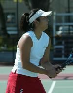 Women's Tennis Wins in WCC Opener