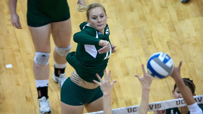 VOLLEYBALL LOOKS TO INCREASE WINNING STREAK THIS WEEK ON THE ROAD