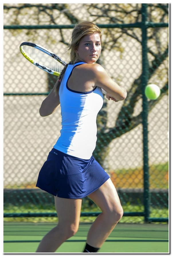 Lions' women's tennis team falls in HCAC match at Hanover College