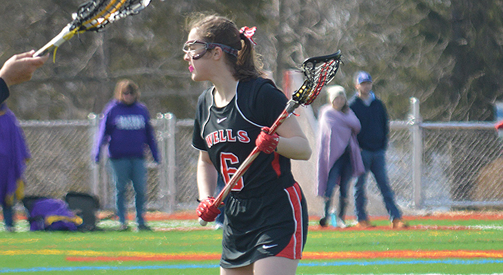 Undefeated Keuka Surges Past Wells Women's Lacrosse