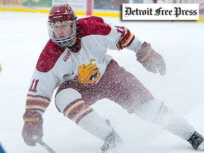 Bulldog Hockey Featured In Detroit Free Press