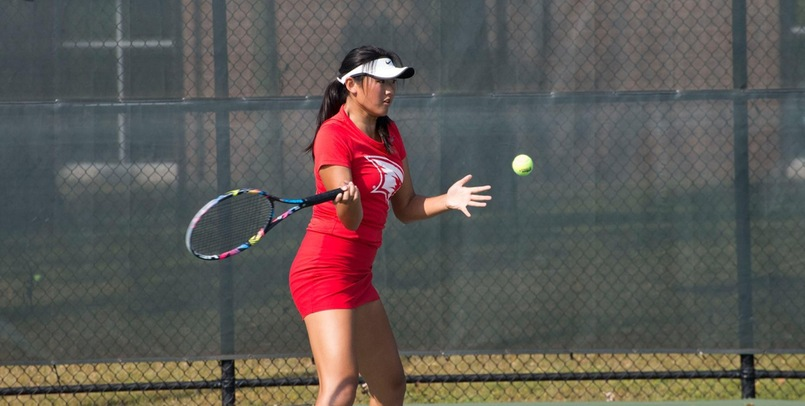 Women's Tennis Remains Unbeaten in League Play With 8-1 Decision Over LSSU