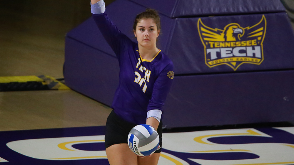Tech volleyball visits Tennessee State, Belmont on final regular-season road trip