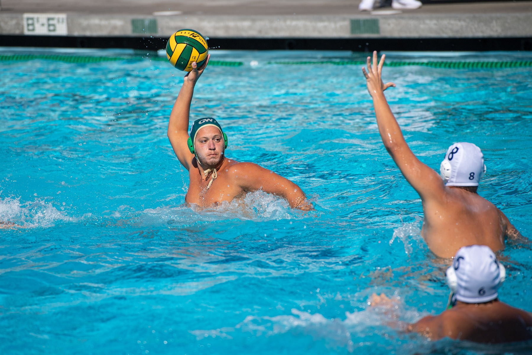 M Water Polo: Cruises in Second OEC Match-up