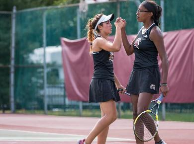 Women's Tennis Completes Fall Season