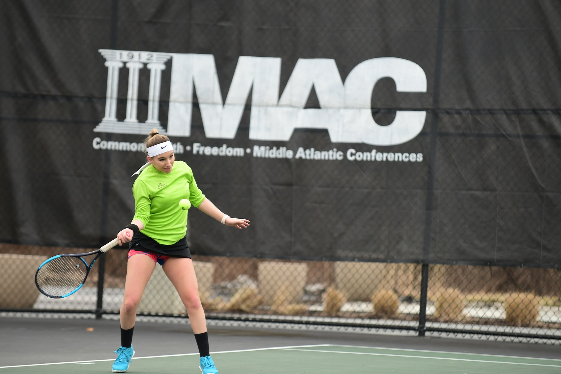 Winning Streak Halted at Five For Women's Tennis