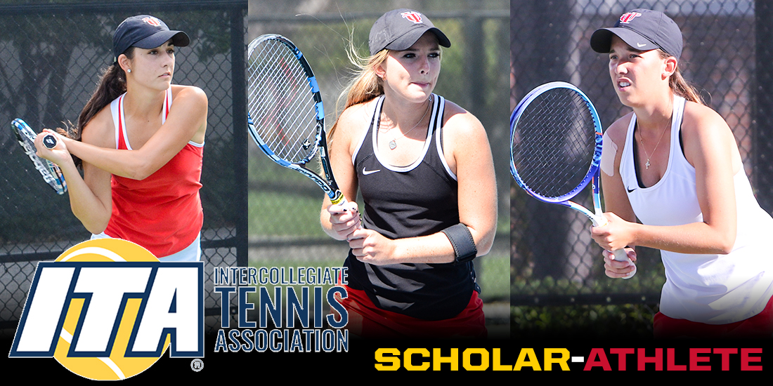 Three Spartans Receive ITA Scholar-Athlete Awards