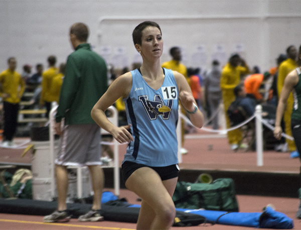 Rains Establishes New Record at Prin Relays