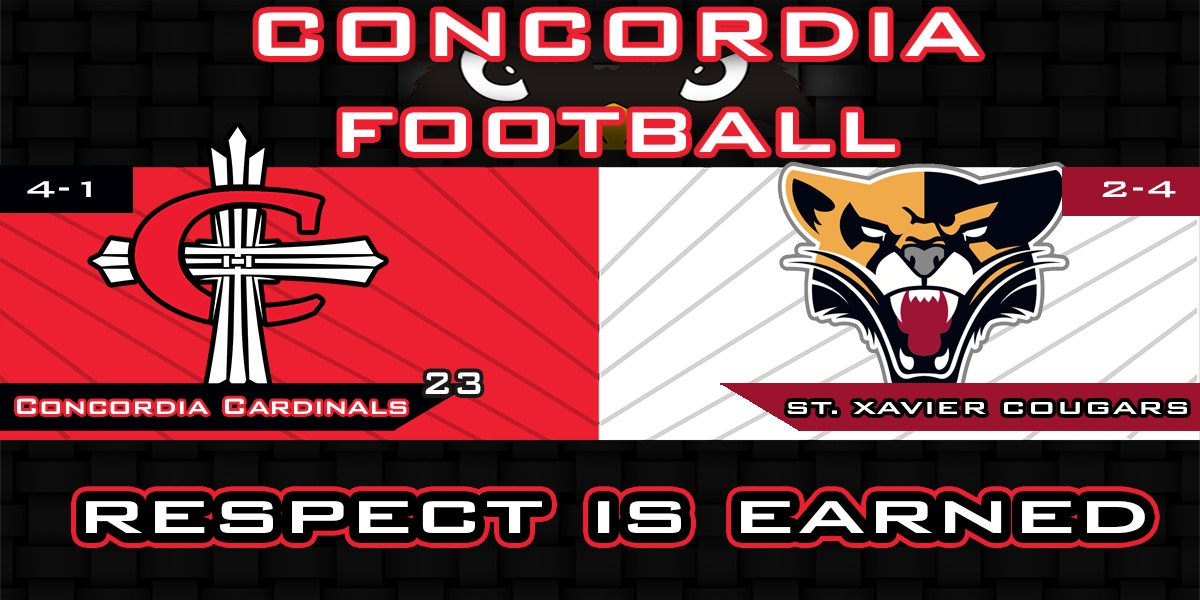 Cardinals enter week 6 ranked #23 in the NAIA coaches' poll