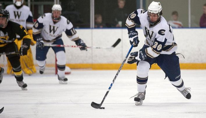 Men's Hockey Gets Second Win on the Weekend