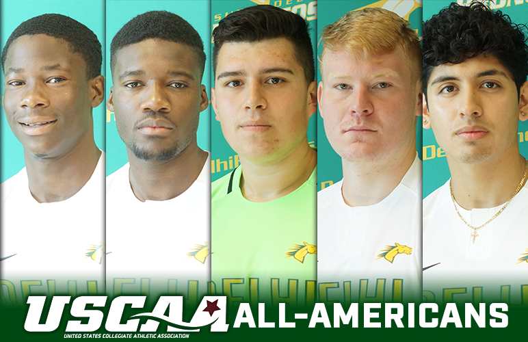 Five Men's Soccer Players Named USCAA All-Americans