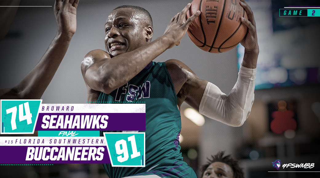 No. 15 #FSWMBB Secures Road Win At Broward