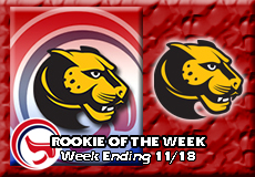 Thomas Draper-Wentworth, Men's Ice Hockey: Rookie of the Week