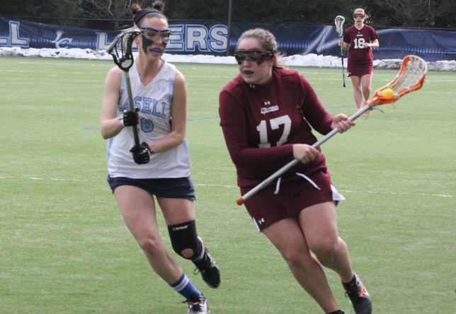 Women's Lacrosse: Cadets Down Mustangs 15-9 in League Play