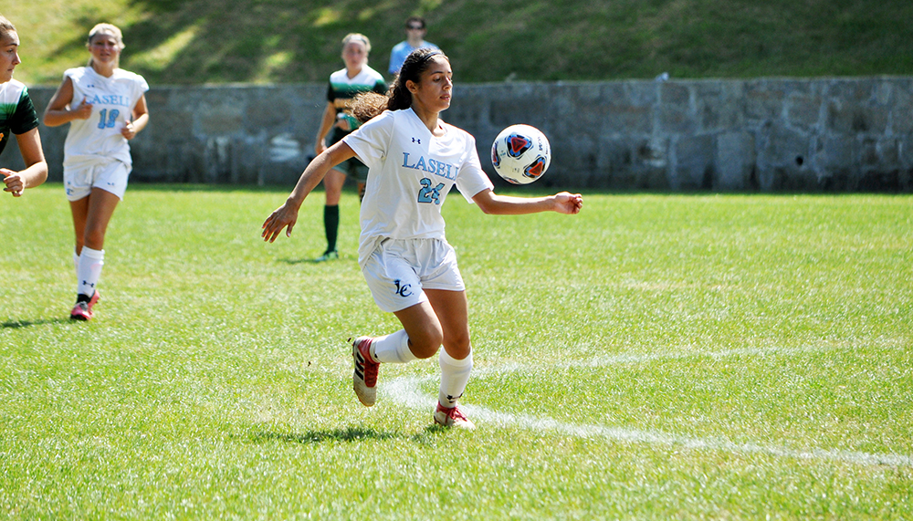 Lasell Women's Soccer drops season opener to Oswego