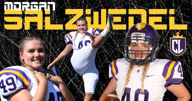 Salzwedel Makes History as First Female Football Player at CLU